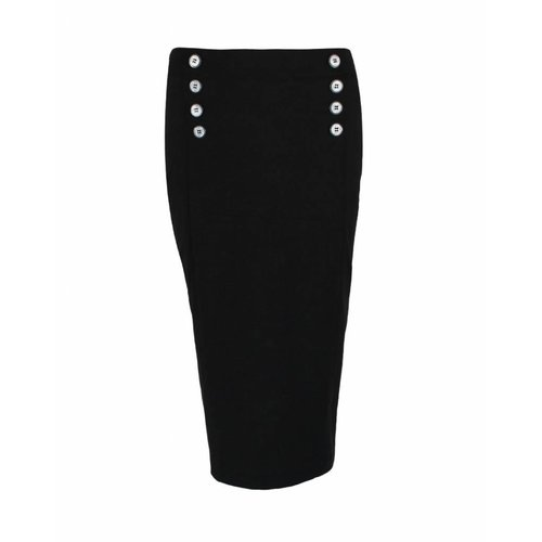 Only-M Only-M Skirt Star Nero