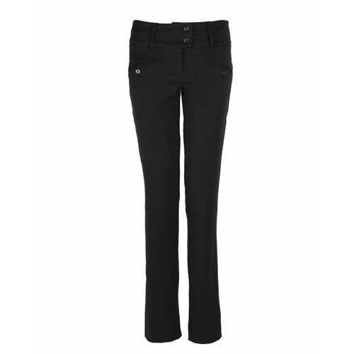 Longlady Longlady Trousers Baafke Black