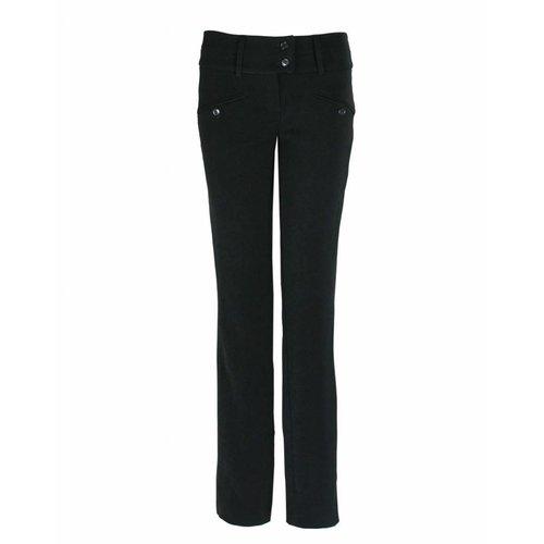 Longlady Longlady Trousers Baafke M Black