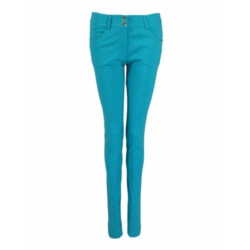 Longlady LongLady Trousers Nathalie Benga Aqua