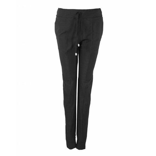 Only-M Only-M Trousers Sporty Chic Nero