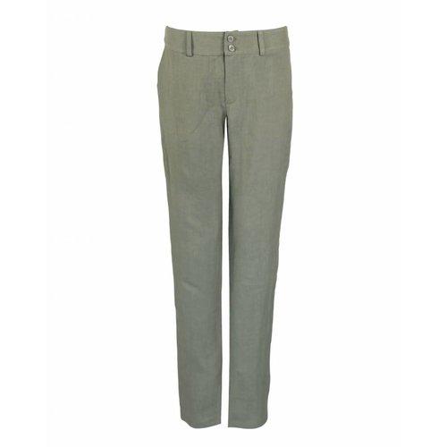 Longlady Longlady Trousers Babet Khaki