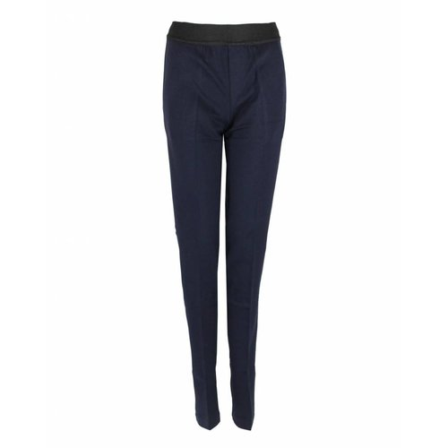 Only-M Only-M Trousers Punto Navy