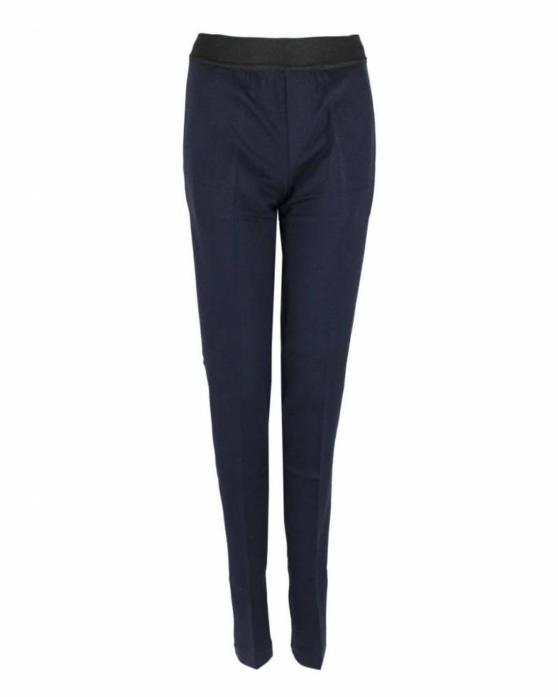 Only-M Trousers Punto Navy