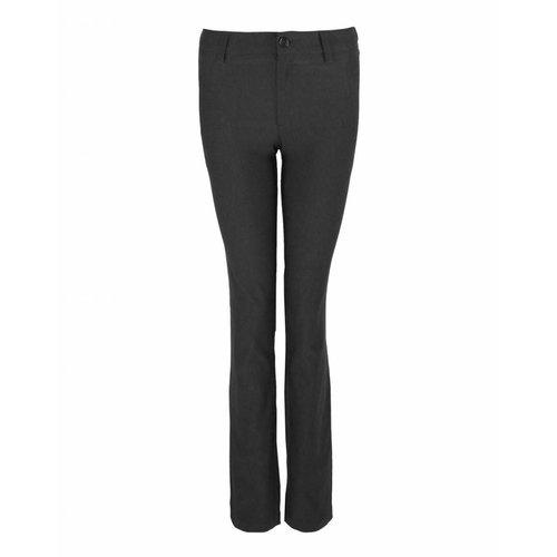 Longlady LongLady Trousers Bree Velvet Black