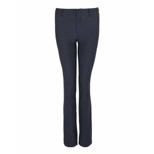 Longlady LongLady Trousers Bree Velvet Darkblue