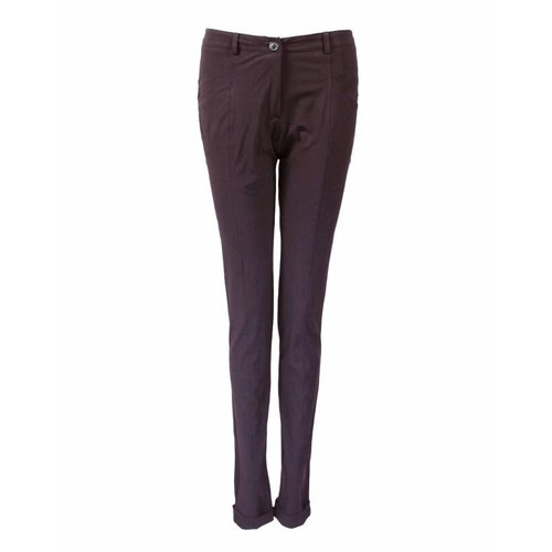 Only-M Only-M Broek Dandy Sporty Prugna