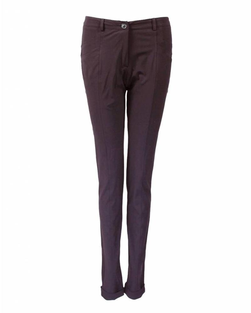 Only-M Trousers Dandy Sporty Prugna