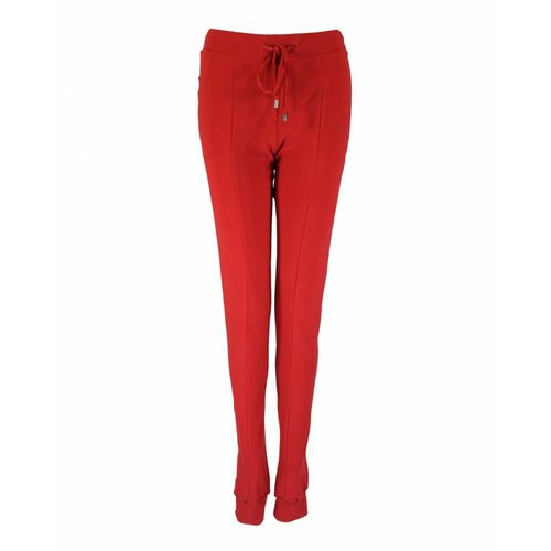 Only-M Only-M Trousers Snooze Rosso