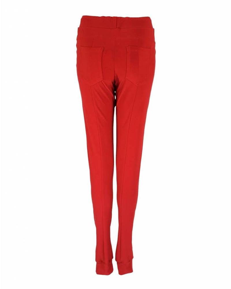 Only-M Broek Snooze Rosso