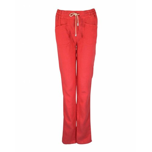 Only-M Only-M Trousers Lino Corallo