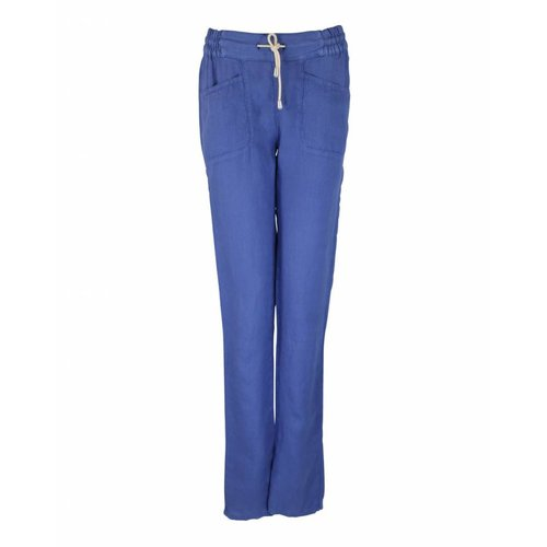 Only-M Only-M Trousers Lino Blue