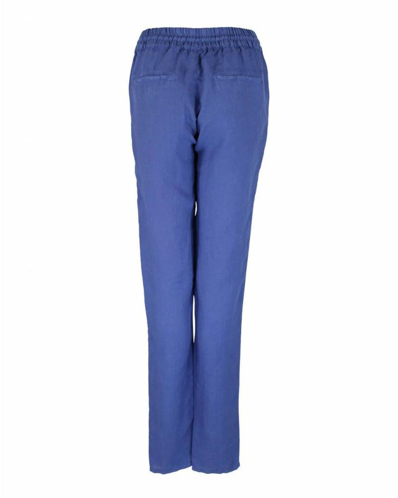 Only-M Trousers Lino Blue