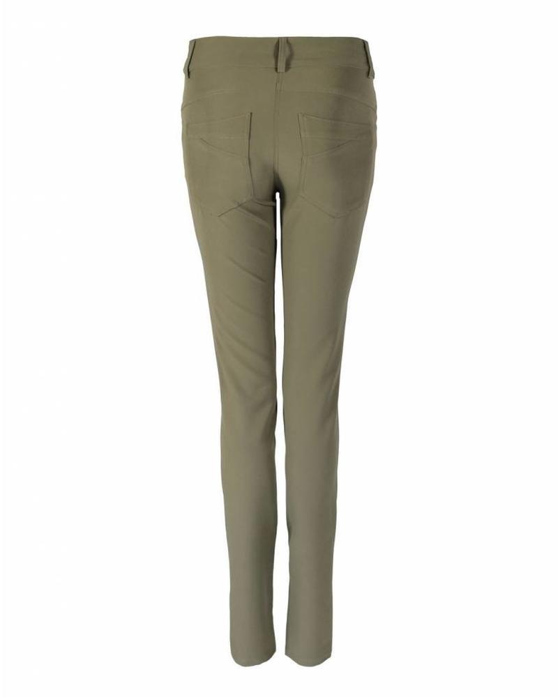 LongLady Trousers Nataly Light Khaki