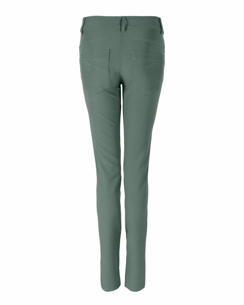 LongLady Broek Nataly Dusty Army