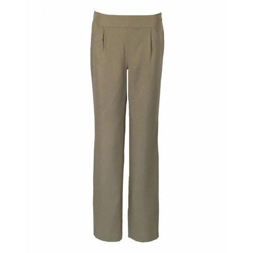 Longlady LongLady Trousers Naadja Khaki