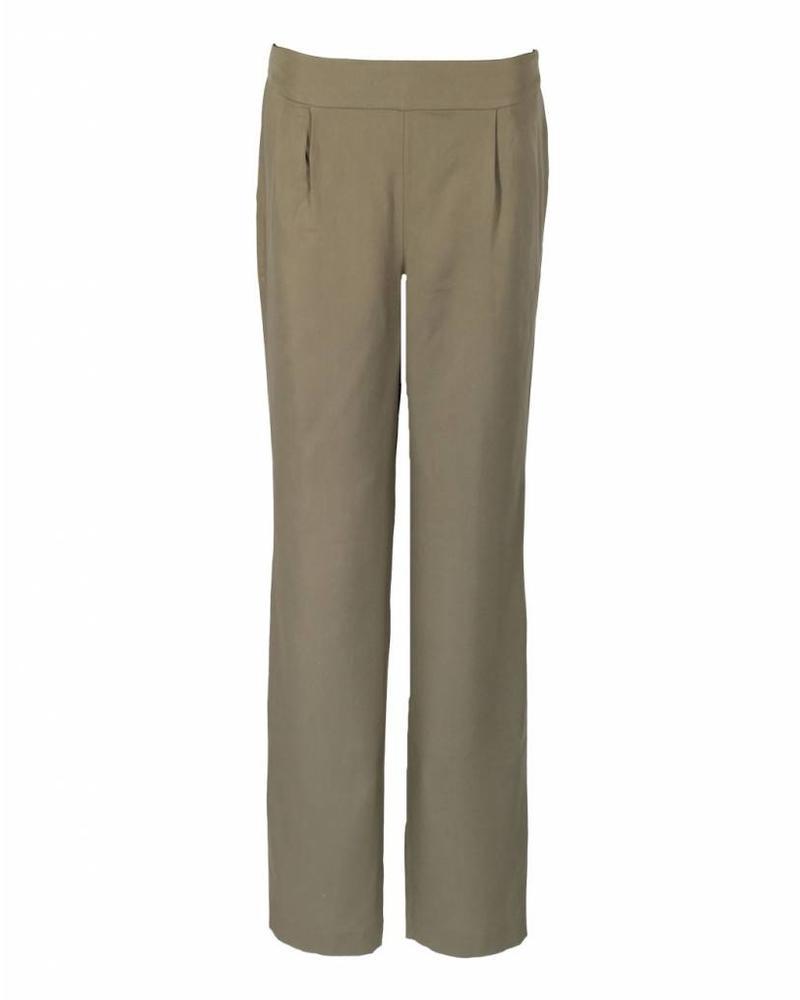 LongLady Trousers Naadja Khaki
