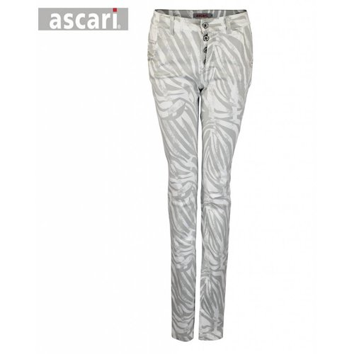 Ascari Ascari Trousers Esther Grey White