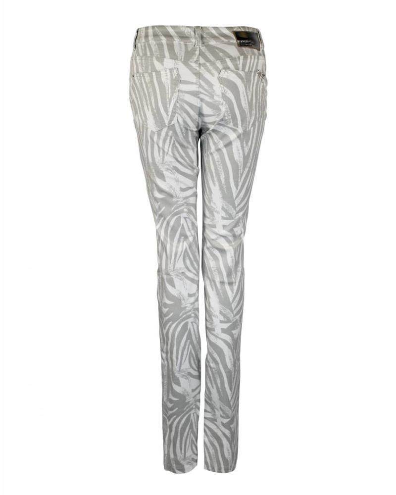Ascari Trousers Esther Grey White
