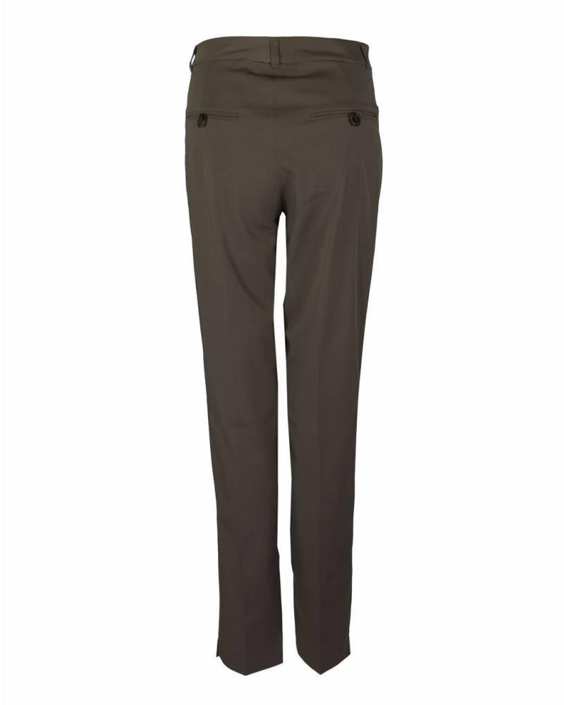 LongLady Trousers Bauke Darkbrown