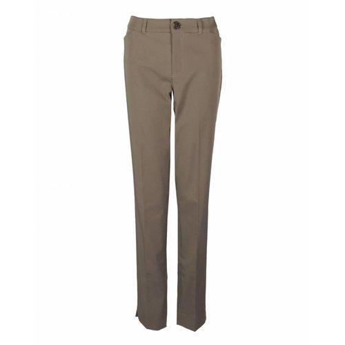 Longlady LongLady Trousers Bauke Taupe