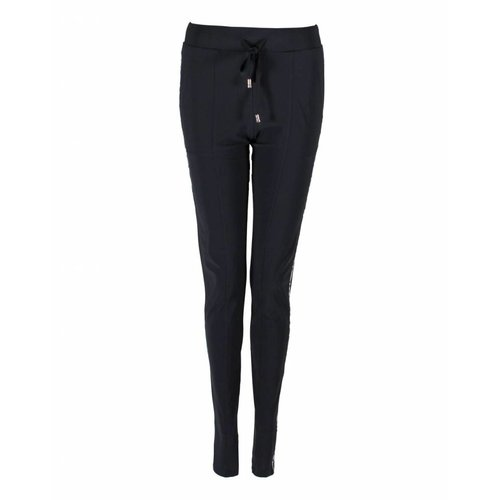 Only-M Only-M Broek Sporty Chic Navy Bies
