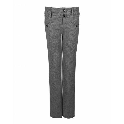 Longlady LongLady Trousers Baafke Black dessin
