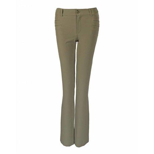 Longlady LongLady Trousers Barbe Light Khaki
