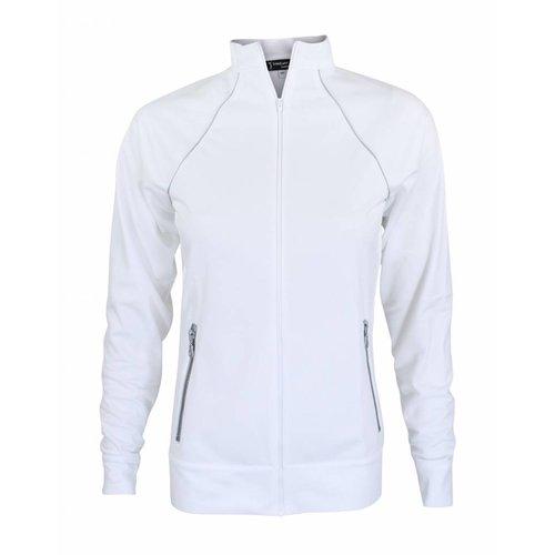 Longlady Longlady Sportjacket Sophia White