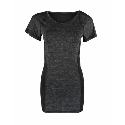 Tallgirls Sporttop Grey Black