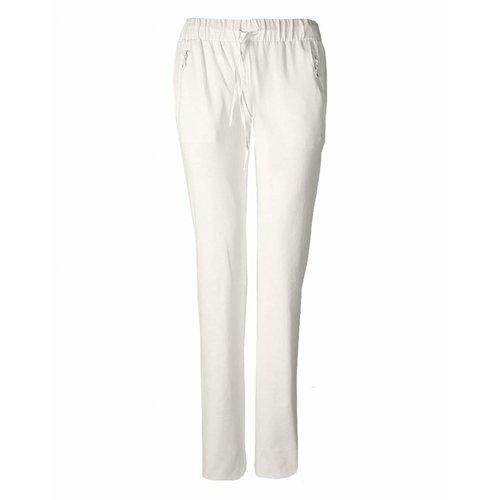 Longlady Longlady Sporttrousers Sharda Offwhite