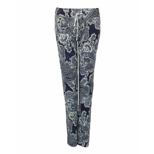 Longlady LongLady Sporttrousers Sharda Blue Dessin