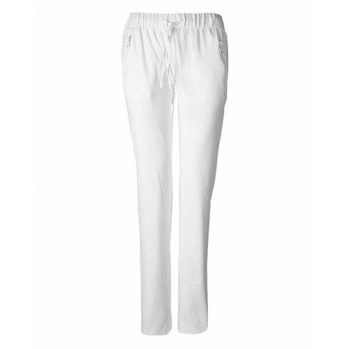 Longlady Longlady Sporttrousers Sharda White