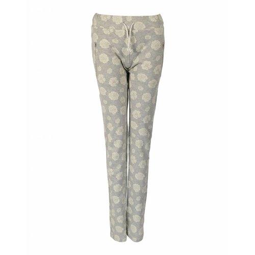 Longlady LongLady Sporttrousers Sharda Grey Flower