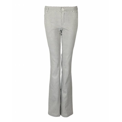 Longlady LongLady Trousers Bree Creme Dessin
