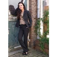 LongLady Broek Brenda Zwart streep
