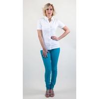LongLady Trousers Nathalie Benga Aqua