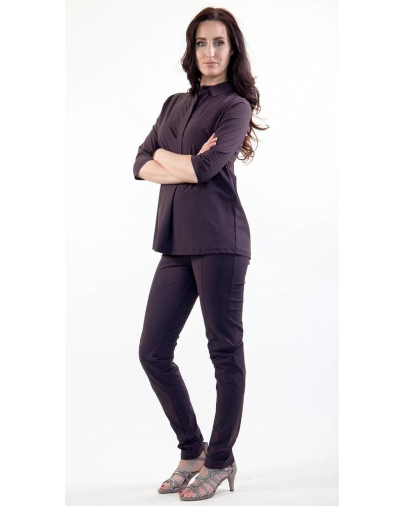 Only-M Broek Dandy Sporty Prugna
