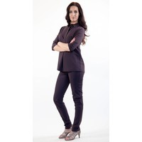 Only-M Polo Sporty Chic Prugna LKM