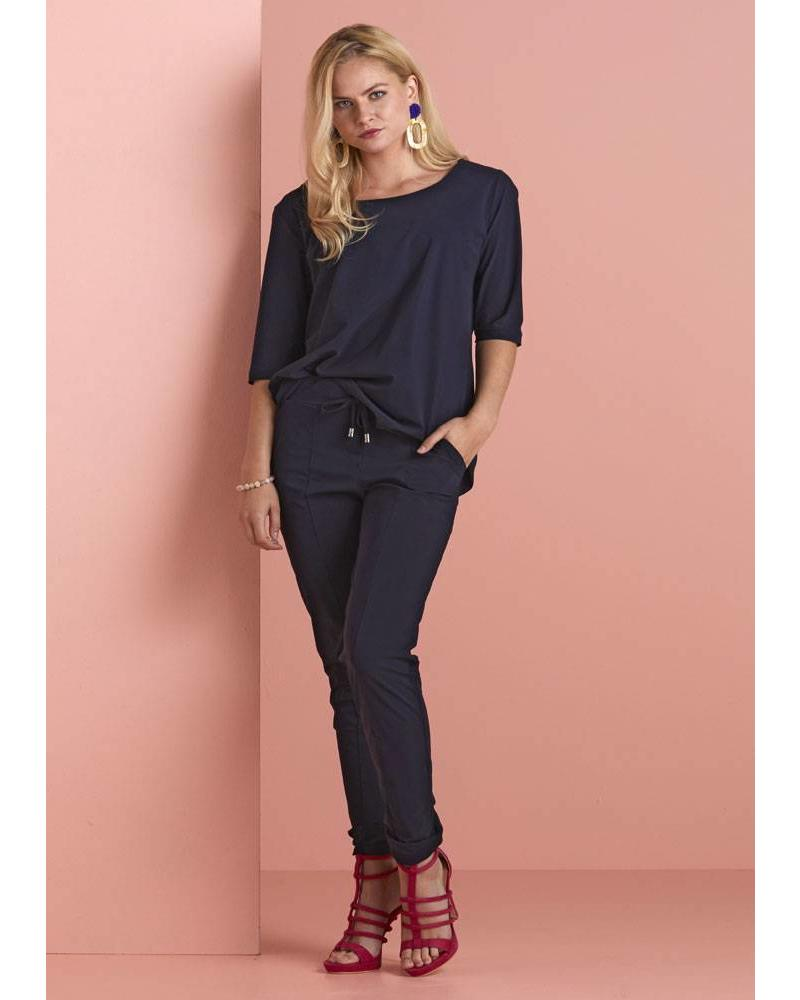 Only-M Trousers Snooze Navy