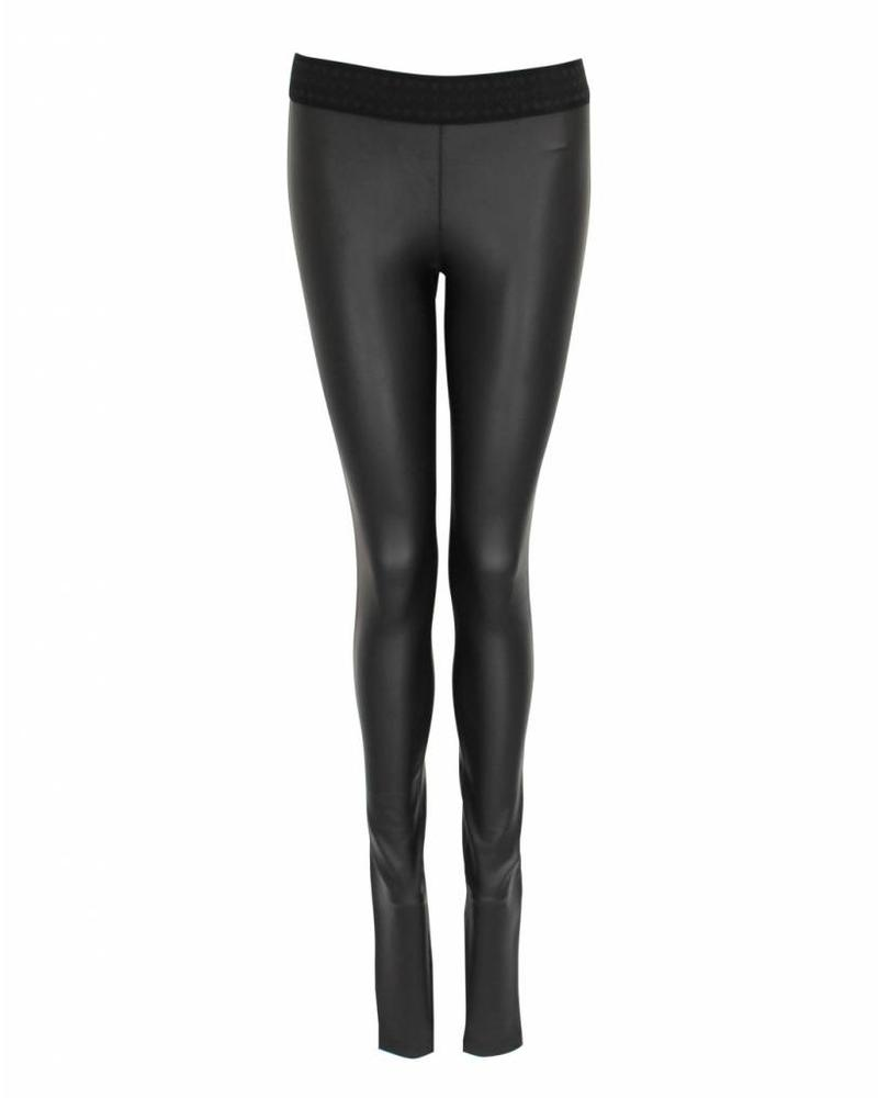 Only-M Legging Jeather Nero