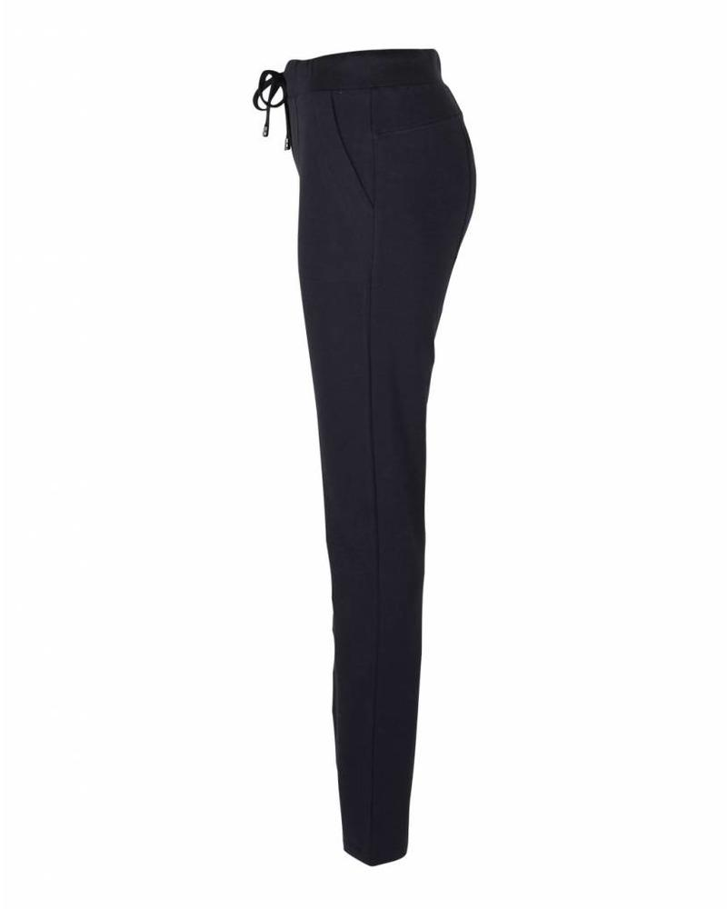 Only-M Trousers Felpa Navy