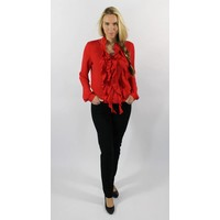 Only-M Blouse Roezel Rosso
