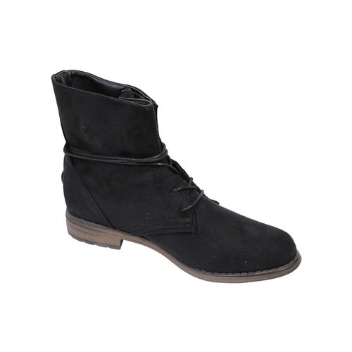 Fitters Fitters Boots Suedine Black