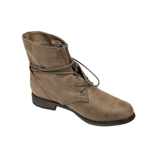 Fitters Fitters Boots Suedine Taupe