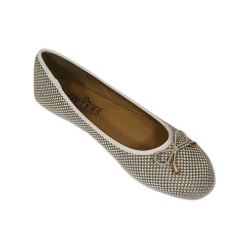 Fitters Fitters Ballerina Raffia Taupe