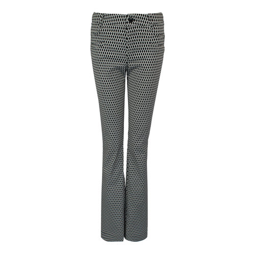 Longlady LongLady Trousers Barbe Black Dessin