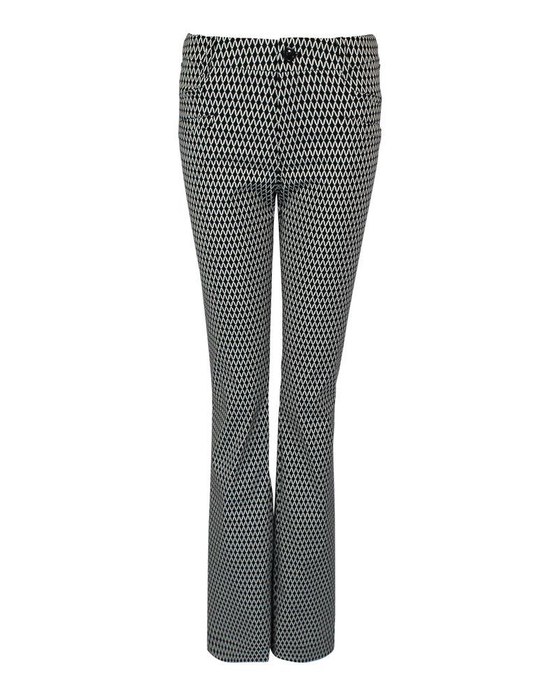 LongLady Trousers Barbe Black Dessin