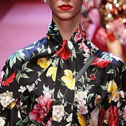 Bloemenprints..... hoe draag je die kleding ?