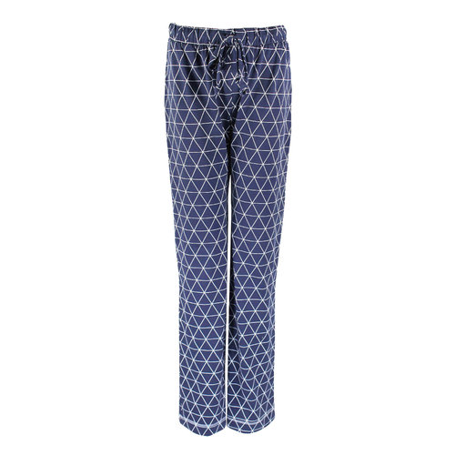 Longlady Longlady Pyjamabroek Paulien Blauw Ruit
